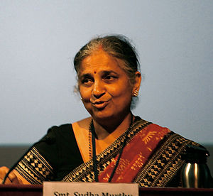 Sudha Murthy - Sudha Murthy in 2010