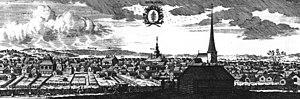 Hedemora - Hedemora around 1700, in the work Suecia antiqua et hodierna.