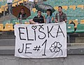 Supporters of Eliska Klucinova at TNT Express Meeting in Kladno 9June2013 117.jpg