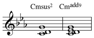 Added tone chord