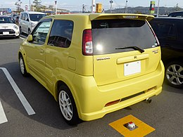 Suzuki SWIFT Sport (TA-HT81S) rear.jpg