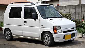 Automotive industry in Japan - First Suzuki Wagon R, 1993, bestselling national kei class car