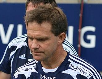 Svein Fjælberg - Fjælberg in 2008, during a show match between Viking All Star and Liverpool Legends