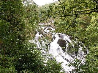 River Llugwy - Swallow Falls, near Betws-y-coed