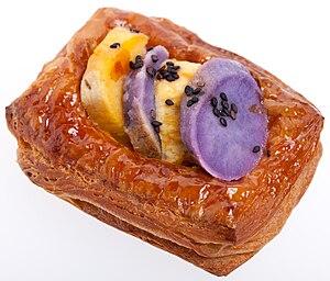 Flaky pastry - Image: Sweet potato flaky pastry