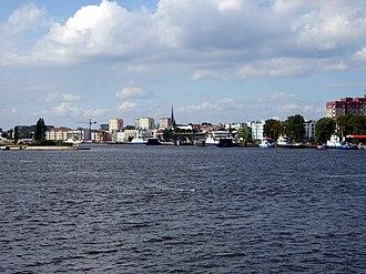 Świnoujście - City panorama