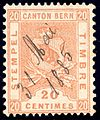 Switzerland Bern 1881 revenue 20c - 26B.jpg