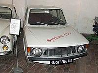 Syrena 110, eksponat Muzeum Przemysłu w Warszawie