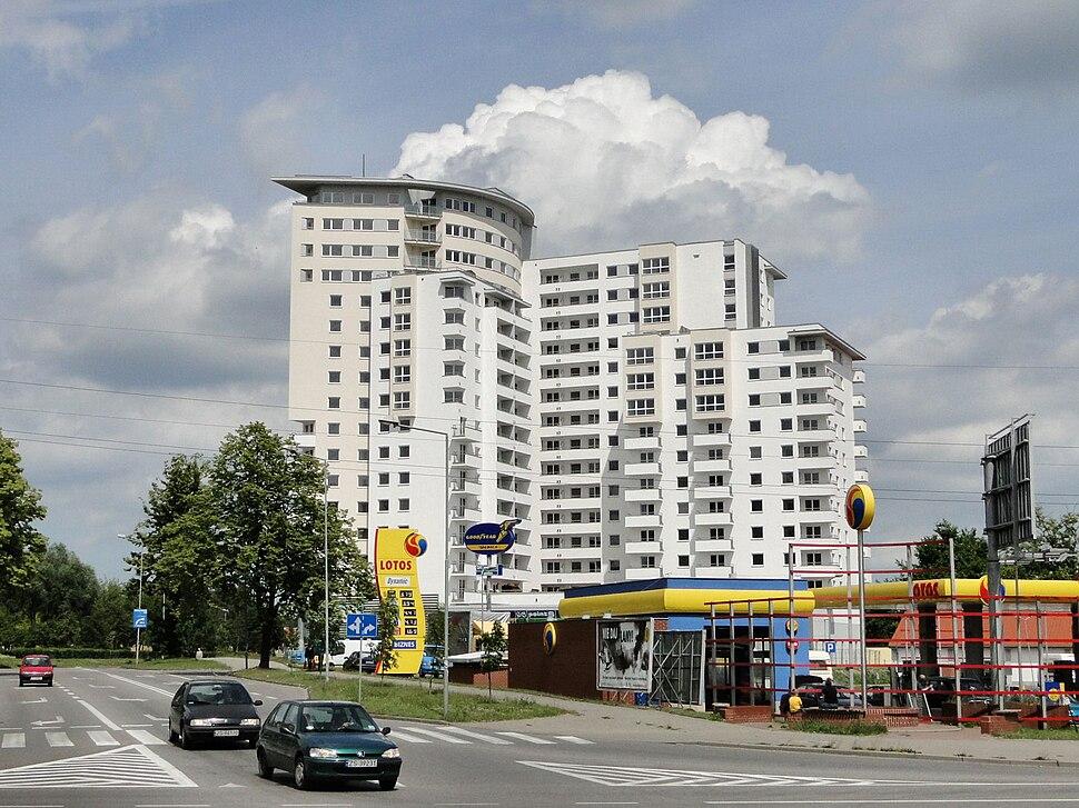 Szczecin Osiedle Bandurskiego Wiezowiec Widok 1
