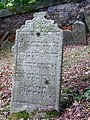 Třešť Jüdischer Friedhof - Grabstein 2.jpg