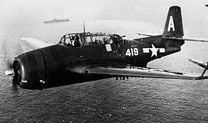 VFA-195 (U.S. Navy) - VT-19 TBM-3E in 1946