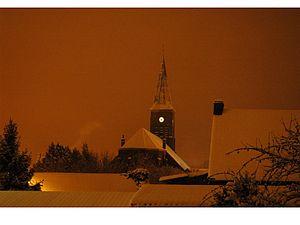 Thiant - Image: THIANT sous la neige le 19 décembre 2010