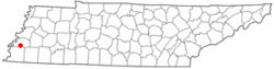 Location in the U.S. state of Tennessee
