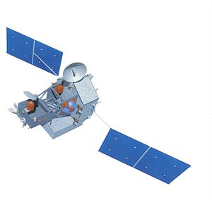 Tropical Rainfall Measuring Mission - Artist conception of the TRMM satellite