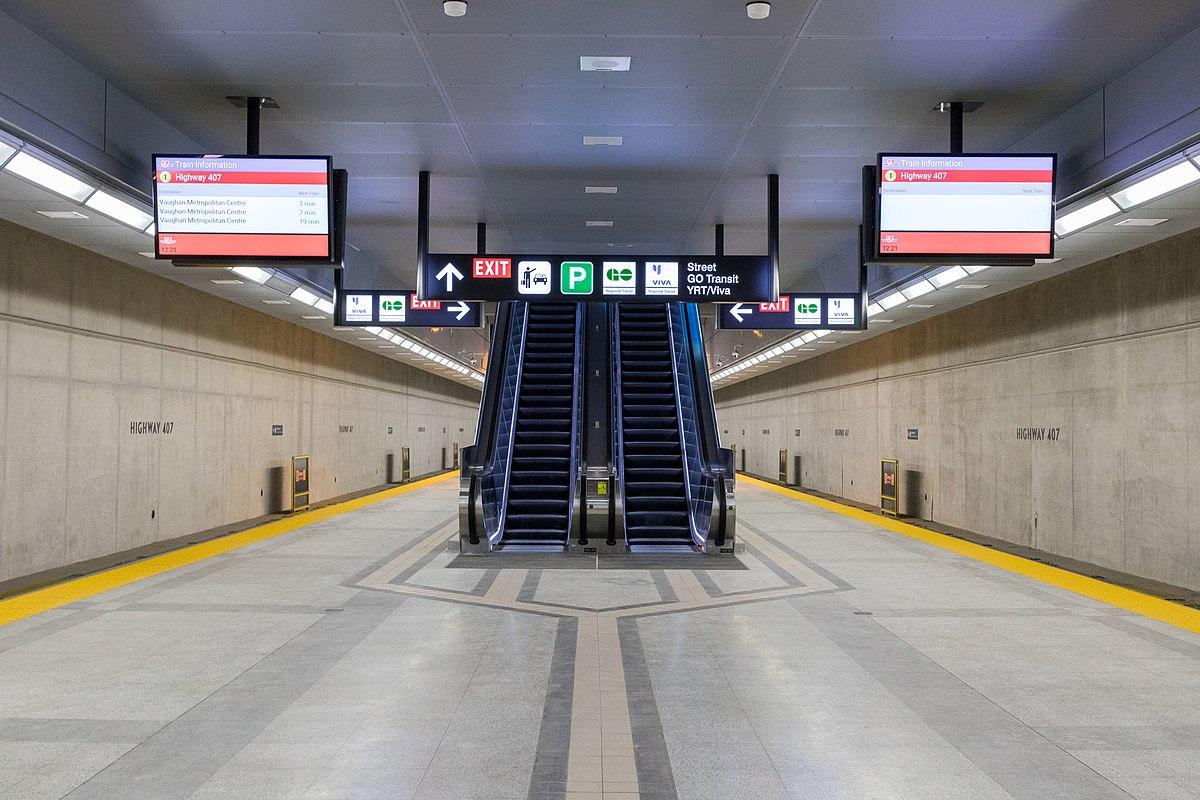Highway 407 station - Wikipedia