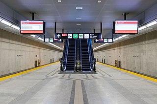 Highway 407 station Toronto subway station
