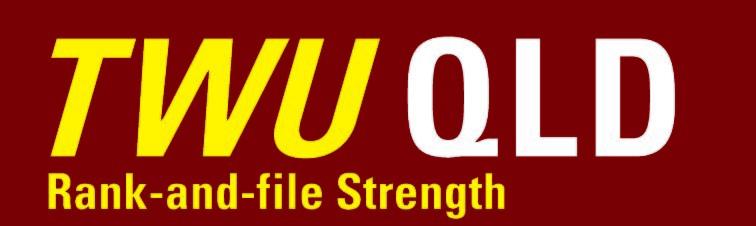 TWU QLD Logo