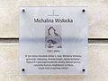 Tablica Michalina Wisłocka Piekarska 5 Warszawa.JPG