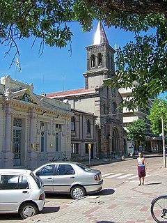 Capital city in Tacuarembó Department, Uruguay