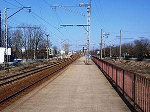 Lilleküla railway station - Lilleküla station in 2010 with old platforms.