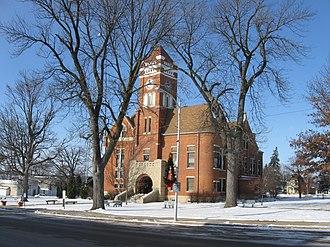 Toledo, Iowa - Tama County Courthouse, Toledo, Iowa.