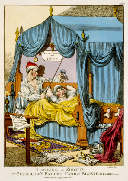 Dosya:Tameing a Shrew; or, Petruchio's Patent Family Bedstead, Gags & Thumscrews.png