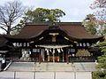 Tamura-jinja (Takamatsu) haiden.JPG