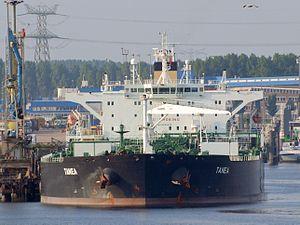 Tanea IMO 9285835, 05July2009, Port of Rotterdam.jpg