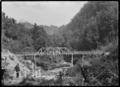 Tangarakau Gorge, a road bridge and grave site. ATLIB 286519.png