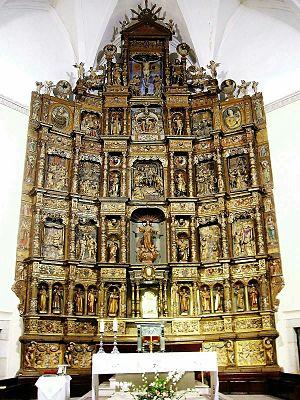 Reredos - Image: Tarancon Iglesia de Nra. Sra. de la Asuncion 3