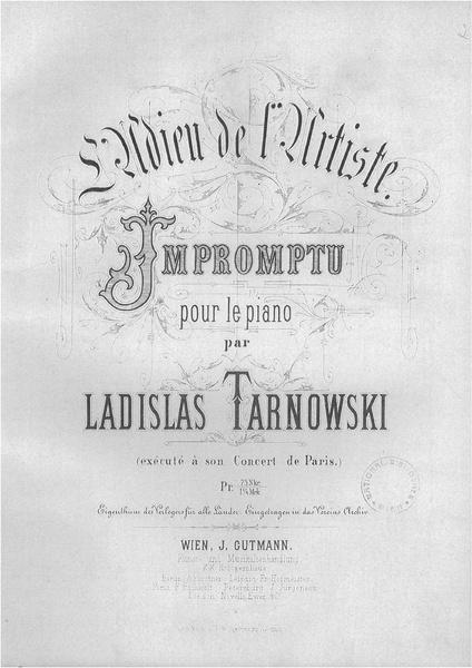 File:Tarnowski - L'Adieu de l'Artiste. Impromptu pour le piano..pdf