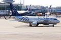 Tarom (SkyTeam Livery),YR-BGF, Boeing 737-78J (16269908649).jpg