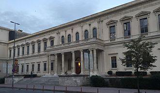 ITU School of Architecture - ITU School of Architecture building, Taskisla