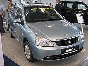 Tata Indigo - Image: Tata Indigo SW Facelift front PSM 2009