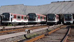 Tbilisi Metro Line - 2 VAGZAL LINE NEW TRAINS from 2006 2.jpg