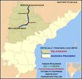 Telangana Express (Secunderabad - Sirpur) Express Route map.png