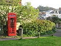Telephone Kiosk, Dunster - geograph.org.uk - 405052.jpg