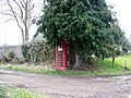 Telephone box, Affpuddle - geograph.org.uk - 1174871.jpg