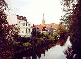 Telgte - Old Town and River Ems