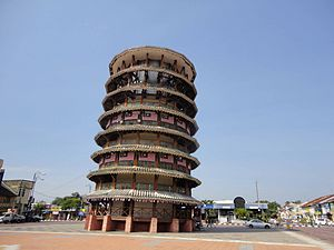 Teluk intan clock tower.JPG