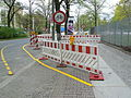 Temporary bike line Alt Moabit Berlin.JPG