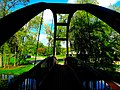 Tenney Park - Steel Pedestrian Bridge - panoramio (1).jpg