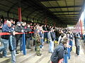 Tense spectators in Aldershot Town's East Stand - geograph.org.uk - 996594.jpg
