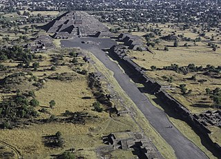 Teotihuacan Pre-Columbian Mesoamerican city located in a sub valley of the Valley of Mexico