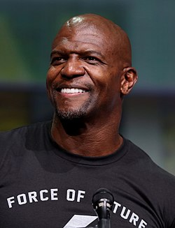Terry Crews San Diegon Comic-Conissa 2017.