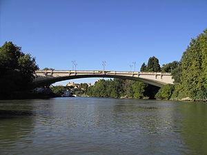 Ponte del Risorgimento - Ponte del Risorgimento, Rome