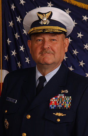 Coast Guard Commandant Thad W. Allen, from htt...