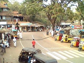 Tharuvana Village in Kerala, India