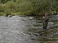 That's me, fishing by Myllykoski, Jaala, august 2008 - panoramio.jpg