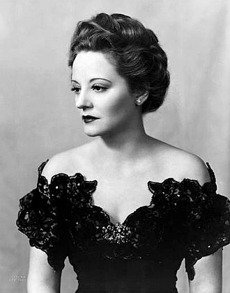 Lillian Hellman - Tallulah Bankhead as Regina Giddens in The Little Foxes (1939)